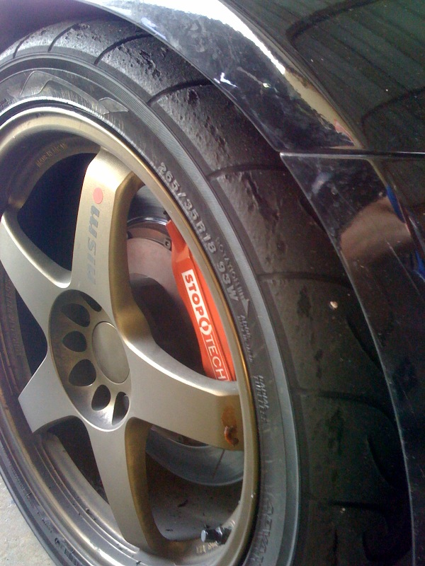 Tire experts: What made my new Yokohama AD08 do this ...