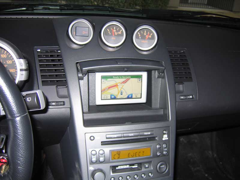 GpsPasSion Forums - Mounting Nuvi 660 in nissan 350Z cubbyhole