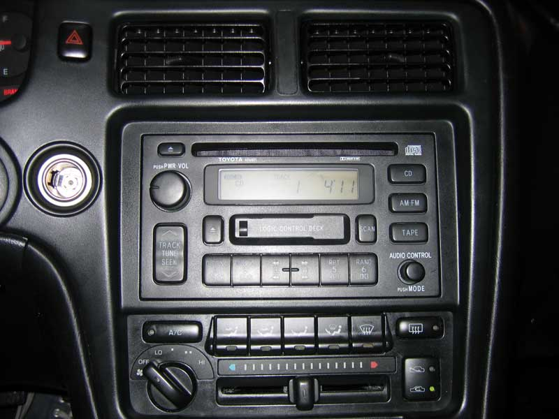 How I Hooked My Ipod Up With A Toyota Radio And Kept Oem Look Mr2 Rhmr2oc: Toyota Mr2 Radio At Gmaili.net